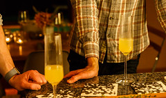 Prosecco, pear and ginger, and friends (peripathetic) Tags: 2016 5d 5dmk3 5dmkiii america canoneos5dmk3 northcarolina thanksgiving us usa unitedstates alcohol architecture canon carrboro ginger home house kitchen pear prosecco wine wood woodenhouse woodland woods