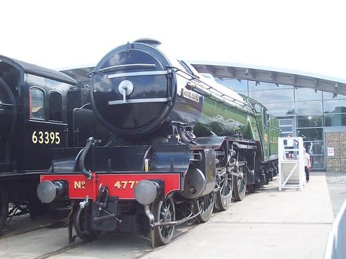 LNER V2 class 4771 at Shildon