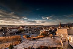 evening lights in the land of beautiful horses..............Cappadocia (Ozlem Acaroglu(www.ozlemacaroglu.com)) Tags: nevşehir ürgüp urgup göreme avanos çavuşin turquie ef1635mmf28liiusm turchia türkiye turkey turkei turkeytravel turkeylandscape uzunpozlama urbannd architectural sunset doğalyoğunlukfiltresi daytimelongexposure daylightexposure fullframe canon5dmarkiii canonfx landscape longexposure lungaesposizione leefilter lee09ndgradsoft leebigstopper lee09ndgradhard zen bw77mmnd301000x bulb bigstopper bwnd10stop bluesky neutraldensityfilter nd110 nd11010stopfilter ndfiltre nd