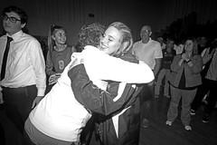 IMG_6966-01 (SJH Foto) Tags: girls volleyball high school allentown central catholic somerset team teen teenager hugs black white blackandwhite bw monocolour