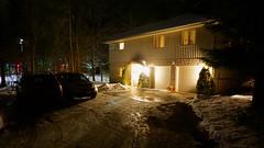 Arrived (Craig James White) Tags: canada ontario brucecounty saugeenshores portelgin winter snow christmaslights