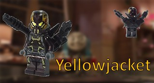 Custom Lego Yellowjacket