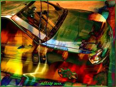 *On the road... (MONKEY50) Tags: car digital colors art pentaxart abstract green red yellow orange fantasy summer fall road home autofocus pentaxflickraward hypothetical flickraward musictomyeyes awardtree netartii artdigital exoticimage psp shockofthenew beautifulphoto