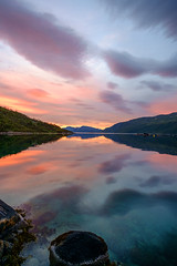 Night beauty (John A.Hemmingsen) Tags: water landscape midnight fujifilm fjord troms troms 14mm xe1 kaldfjord fx14mmf28r