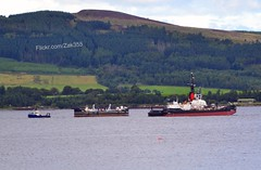 1 water barge out, another 1 in! (Zak355) Tags: boats scotland riverclyde scottish tug shipping towing boatyard rothesay isleofbute serco waterbarge ardmaleish sdimpetus