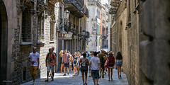 walk in Barcelona's Gothic Quarter (Niels J. Buus Madsen) Tags: barcelona canon eos 5ds