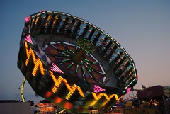 Walworth County Fair 2015 (Cragin Spring) Tags: usa wisconsin lights midwest unitedstates dusk unitedstatesofamerica rides wi elkhorn 2015 northernwisconsin walworthcountyfair elkhornwi walworthcounty elkhornwisconsin