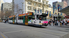 B2 Class Tram 2116 - Melbourne, Australia (Jungle Jack Movements (ferroequinologist)) Tags: b2 class ptv metro tramway tramline yarra trams light rail urban city ticket bourke swanston myki z3 melbourne tram authority victoria australia z three bogie articulated subclasses dandenong comeng mtb bogies door acceleration braking brake performance preston workshop workshops service public transport advertise advertising livery liveries brunswick essendon glenhuntly malvern 2116 trolley cablecar ttc john capital ss jungle jack travel traveller