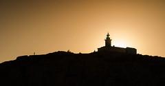 _DSC8532 (seiunozero610) Tags: sunset faro tramonto mare corsica rosso rousse ligthouse illerousse d7000 estate2015