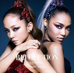 Revolution- Crystal Kay feat. Namie Amuro (CD + DVD cover) HD (Namie Amuro Live ) Tags: namie amuro cover revolution collaboration singlecover cddvd crystalkay