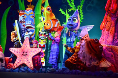 Finding Nemo - Musical (EverythingDisney) Tags: show nemo disney musical disneyworld wdw waltdisneyworld findingnemo disneysanimalkingdom dak