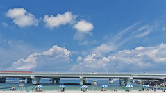 _DSC0879 (Reggie BIG) Tags: blue sky sony okinawa m3 沖繩 海灘 藍天 rx100 波の上ビーチ