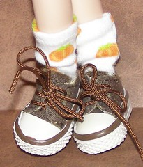 Short Pumpkin Patch Socks...