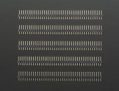 2mm Pitch 40-Pin Break-apart Male Headers - Pack of 5 (adafruit) Tags: parts headers components 2671 adafruit femaleheaders maleheaders 2mmpitch40pinheaders 40pinheaders