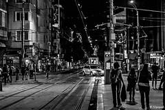 (bobi_nguen) Tags: life street city people urban blackandwhite night photography lights sofia capital streetphotography bulgaria nightlife urbex