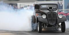 """Trick Or Treat""  1933 Willys Gasser (Bill Jacomet) Tags: drag la louisiana no racing problem southern gasser raceway 2015 gassers"