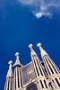 Standing Tall (Ben Hewitt) Tags: barcelona tower spain gaudi nikond800 basílicadelasagradafamília