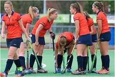 20151108_Roomburg_D1-Hisalis_D1 4 (momentsapart sport) Tags: ladies hockey leiden competition fieldhockey 3rdclass leyden competitie dames1 roomburg hisalis 3eklasse
