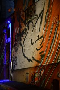 Chartres en Lumières 2015 - Rue de l'Etroit Degré