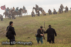 Battle of Cedar Creek (Joshua Eller) Tags: history infantry soldier virginia military union confederate civilwar historical middletown reenactment confederateflag americancivilwar 151st shennandoahvalley battleofcedarcreek cedarcreekbattlefield battleflagofnorthernvirginia
