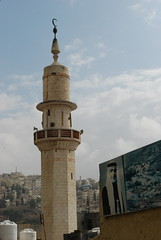 Minaret and View towards Jebel al-Ashrafieh (jrozwado) Tags: asia minaret amman mosque jordan islamic    jebelamman