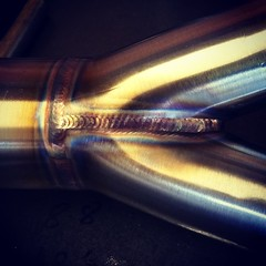 2-1 stainless collector .... #racepipe #purged #gort (Rocket Bobs) Tags: gort purged racepipe uploaded:by=flickstagram instagram:photo=746303774852490829373856896