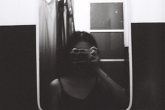 000047-1 (Lee Sydney) Tags: bw white house selfportrait black film girl night 35mm canon asian bathroom photography hotel mirror blackwhite inn first toilet malaysia roll penang guest canonet selfie filmisnotdead q17