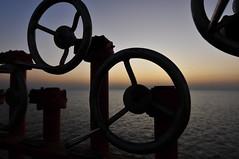 Handles @ night (Gunnar Eide) Tags: ocean sunset sea closeup night ship transport maritime tanker handles logistics tankers odfjell