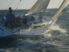 Airborn (Figgles1) Tags: club twilight sailing iii sail fremantle airborn fsc pipedream pipedreamiii fremantlesailingclub p1170023