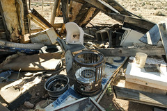Junk In The Desert (Curtis Gregory Perry) Tags: old arizona house abandoned wheel garbage chair junk nikon desert oven decay grandcanyon debris tire litter stove heater navajo refuse decrepit appliance reservation crumbling kerosene d800e