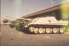 Panzer (the.photo.joe) Tags: camera 35mm war tank kodak slide destroyer german american ww2 agfa sherman panzer