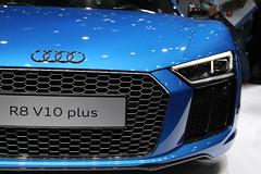 Audi R8 V10 (Wondergraphy) Tags: blue car japan automobile indoor audi v10 r8  2015  tokyomotorshow  malaysiaphotographer wonderfulphotography wondergraphy wwwwondergraphycom httpwwwwondergraphycom