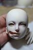 Tutorial - disfigured girl - step 2 (Mamzelle Follow) Tags: doll makeup gore tutorial harlan stepbystep disfigured faceup abigaelle bjdmod eyesmodification larmoirededandan