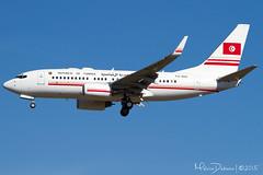 Tunisia Government Boeing 737-7H3(BBJ)  'TS-IOO'  LMML (Melvin Debono) Tags: tunisia summit government boeing melvin valletta debono lmml tsioo 7377h3bbj