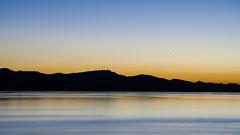Silenciosamente (amofer83) Tags: sunset azul landscape atardecer mar paisaje cielo silueta lamangadelmarmenor menor 2015