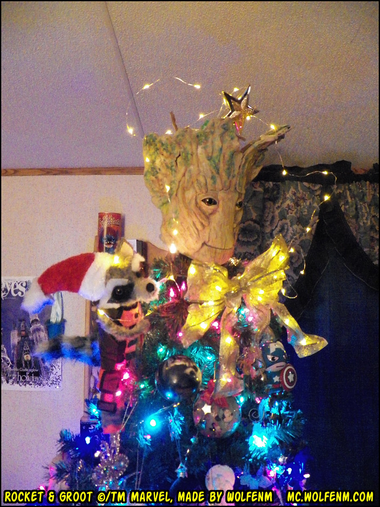 Marvel Christmas Tree Topper.The World S Best Photos Of Groot And Treetopper Flickr