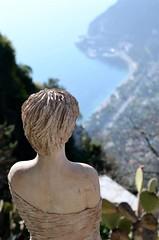 Eze (18) (Pier Romano) Tags: panorama costa france village eze alpi francia statua borgo medio evo giardino provenza storico azzurra esotico marittime