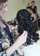 """Bride hair • <a style=""""font-size:0.8em;"""" href=""""http://www.flickr.com/photos/36560483@N04/23428525869/"""" target=""""_blank"""">View on Flickr</a>"""
