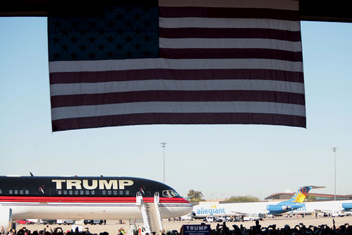 Donald Trump plane by Gage Skidmore, on Flickr