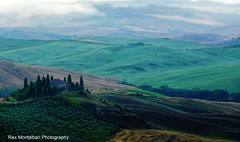 a tuscan landscape (available now on getty images) (Rex Montalban Photography) Tags: italy europe tuscany rexmontalbanphotography poderebelvedere
