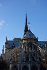 Notre Dame de Paris (Sean Munson) Tags: paris france church europe cathedral gothic unescoworldheritagesite worldheritagesite notredame notredamedeparis notredamecathedral frenchgothic banksoftheseine iledefrance iledelacite