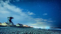 wrightsville night- (markitos57) Tags: beach wilmington wrightsville north carolina cape fear river landscapes urban jetty uss nc battleship riverwalk riverfront brunswick atlantic ocean clouds
