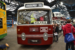 Edinburgh Corporation 101 YSG101 (Will Swain) Tags: edinburgh central depot open day 24th september 2016 lothian bus buses transport travel uk britain vehicle vehicles county country scotland scottish north northern city centre garage shed yard visitors corporation 101 ysg101