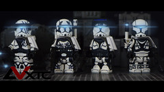 Republic Commando - Shadow Squad (AndrewVxtc) Tags: lego star wars custom clone trooper republic commando shadow squad waterslide decals andrewvxtc