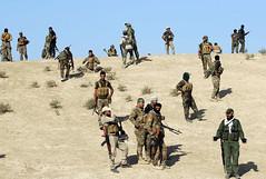 Paramilitares iraques lanzan operacin contra el EI al oeste de Mosul (Seal Informativa) Tags: mena conflicts horizontal qaryatassalmn iraq