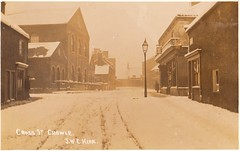 """Cross Street in Snow • <a style=""""font-size:0.8em;"""" href=""""http://www.flickr.com/photos/124804883@N07/30044102310/"""" target=""""_blank"""">View on Flickr</a>"""