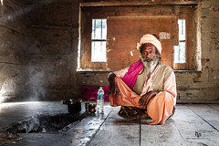 Sadhu @ Tosh Village (Navaneeth Kishor) Tags: sadhu sanyasa sanyasi bliss saint tosh toshvillage himachal kasol india life ashram religion religious hindu hinduism