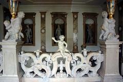 Mirabell Palace, Salzburg AT (Boston Runner) Tags: salzburg austria mirabell palace schloss archbishop historic preserved marble staircase statue cherub 2016 lukasvonhildebrandt angel