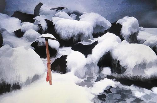 Winter Stickle Tarn