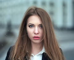 Irina. (vladimir_romansky) Tags: pentax 67 pentax67 film 6x7 medium format kodak tmax girl portrait push 105mm bokeh people indoor outdoor